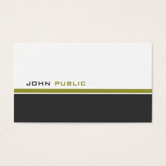 Modern 3 Colour Business Card
