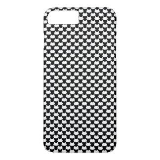 Modern 3D Cat Pattern iPhone 8 Plus/7 Plus Case