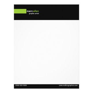Modern 519 Customizable Customized Letterhead