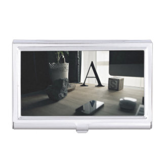 modern A interior collection Business Card Holder