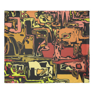 modern abstract 47C Duvet Cover