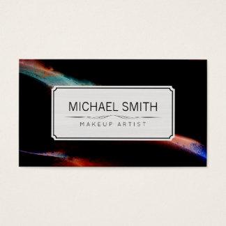 Modern Abstract Art Makeup Artist #40 Business Card
