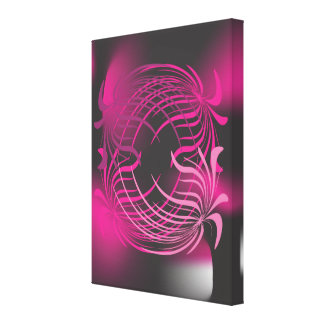 Modern abstract art on canvass canvas print