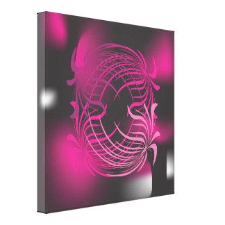 Modern abstract art on canvass canvas print