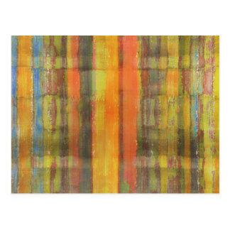 Modern Abstract Art Postcard