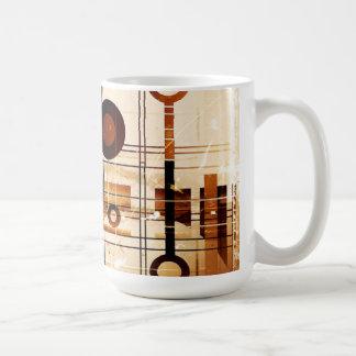Modern Abstract Basic White Mug