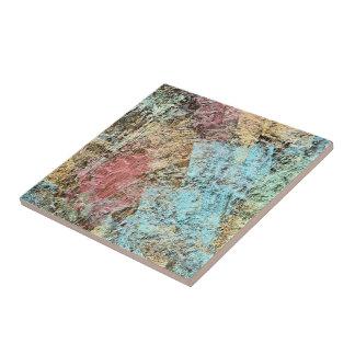 Modern Abstract Brush Strokes Pattern Tile