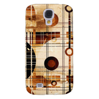 Modern Abstract Galaxy S4 Cover