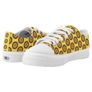 Modern abstract colourful pattern Low-Top sneakers