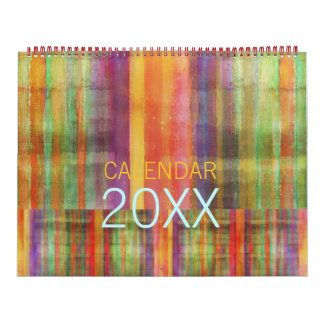 Modern Abstract Contemporary Art Calendar