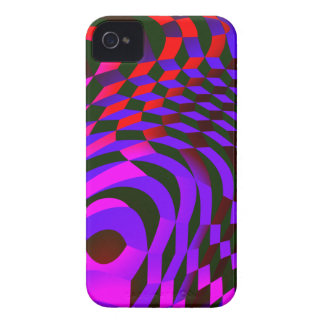 Modern Abstract Cubes iPhone 4 Case
