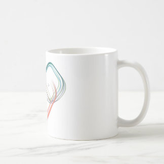 Modern abstract design coffee mug