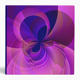 Modern Abstract Fractal Binder