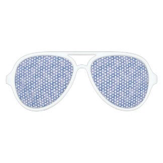Modern Abstract Geometric Party Sunglasses