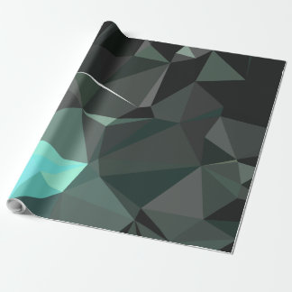 Modern Abstract Geometric Pattern - Awe Cathedral Wrapping Paper