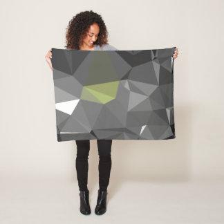 Modern Abstract Geometric Pattern - Castle Throne Fleece Blanket