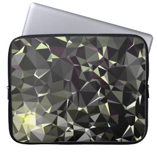 Modern Abstract Geometric Pattern - Deep Power Laptop Sleeve