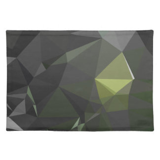 Modern Abstract Geometric Pattern - Falcon Eyes Placemat