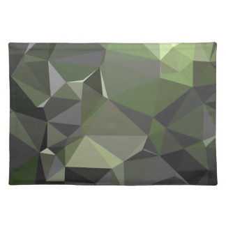 Modern Abstract Geometric Pattern - Galaxy Cat Placemat