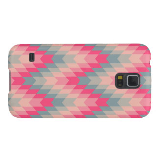 Modern Abstract Geometric Pattern Galaxy S5 Cases
