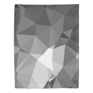 Modern Abstract Geometric Pattern - Knight Gable Duvet Cover