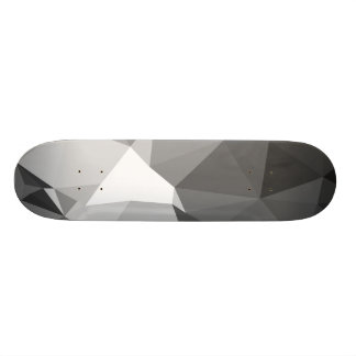 Modern Abstract Geometric Pattern - Knight Gable Skateboard