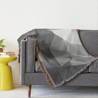 Modern Abstract Geometric Pattern - Knight Gable Throw Blanket