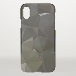 Modern Abstract Geometric Pattern - River Begins iPhone X Case