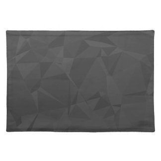 Modern Abstract Geometric Pattern - Shadow Cast Placemat
