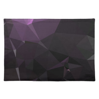 Modern Abstract Geometric Pattern - Shadow Rose Placemat