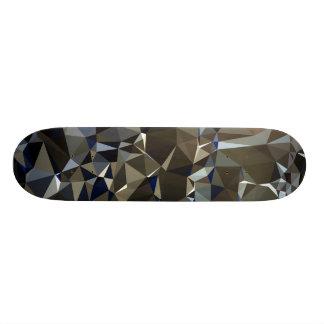Modern Abstract Geometric Pattern - Snake Eyes Skateboard Deck
