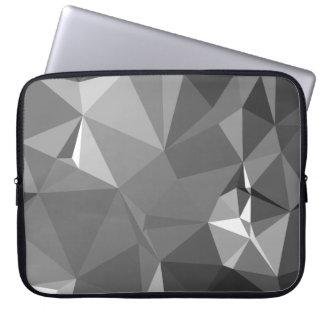 Modern Abstract Geometric Pattern - Stone Warriors Laptop Sleeve