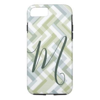 Modern Abstract Monogram Design Case-Mate iPhone Case