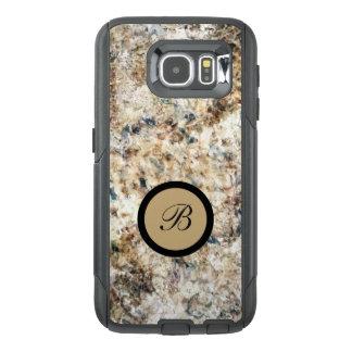 Modern Abstract Monogram OtterBox Samsung Galaxy S6 Case