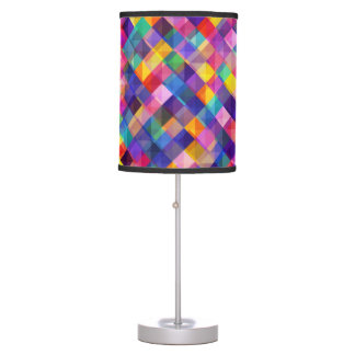 Modern abstract multicolor background Table Lamp