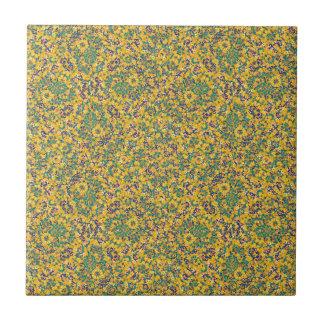 Modern Abstract Ornate Pattern Ceramic Tile