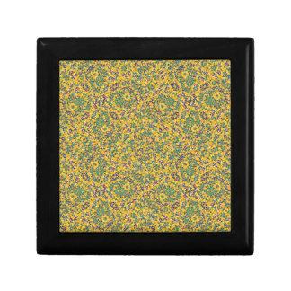 Modern Abstract Ornate Pattern Keepsake Box