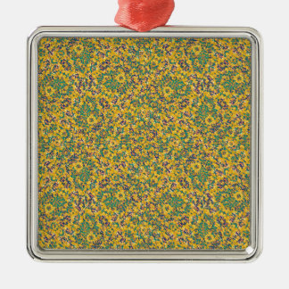 Modern Abstract Ornate Pattern Metal Ornament