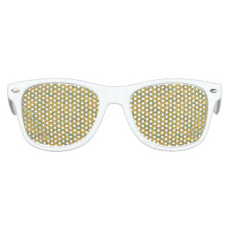 Modern Abstract Ornate Pattern Party Sunglasses