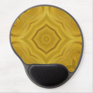 Modern abstract pattern gel mouse mat