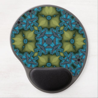 Modern abstract pattern gel mouse pads