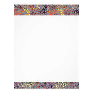 Modern Abstract Pattern Letterhead