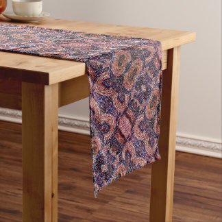 Modern Abstract Pattern Long Table Runner
