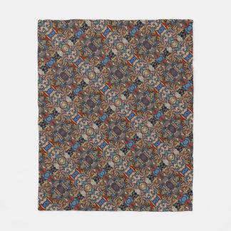 Modern Abstract Pattern M. Collins Fleece Blanket