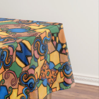 Modern Abstract  Pattern Michelle Collins Tablecloth