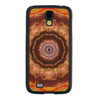 Modern abstract pattern carved® cherry galaxy s4 slim case