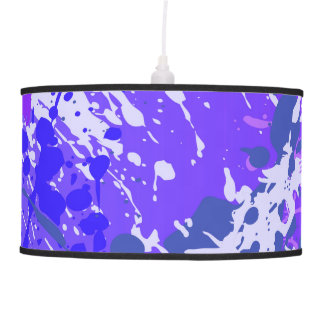 Modern abstract pendant lamp in sprayed style