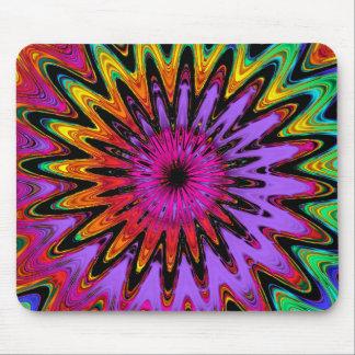 Modern abstract spiral mousepad