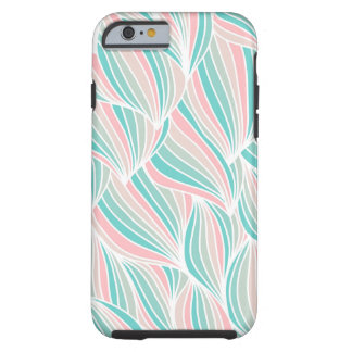 Modern Abstract Stripes Pattern Tough iPhone 6 Case