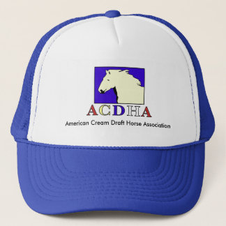 Modern ACDHA logo Blue & White Cap